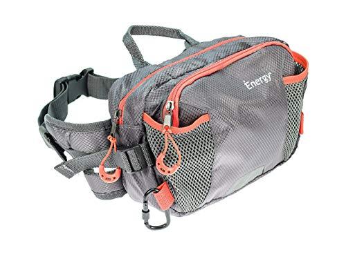 iEnergy PAT Gürteltasche für Hundebesitzer - wetterfeste Hüfttasche - Bauchtasche für das Hundetraining - Leckerli Beutel für Hunde