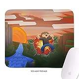 マウスパッド ゲーミング 「アレックスクリーパーコミックサンセットブラウンブローアップ」 おおきいサイズ クラシック エレコム スムースクロス ソフト サイバーカフェ 防水性能 丈夫 軽量 オシャレ 丸洗い 滑り止め ゴム底