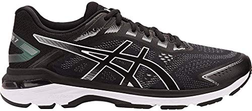 ASICS Men's GT-2000 7 Running Shoes, 12M, Black/White