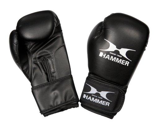 Hammer, Guantoni da Boxe Bambini Blitz, Nero (Schwarz), 8 Once