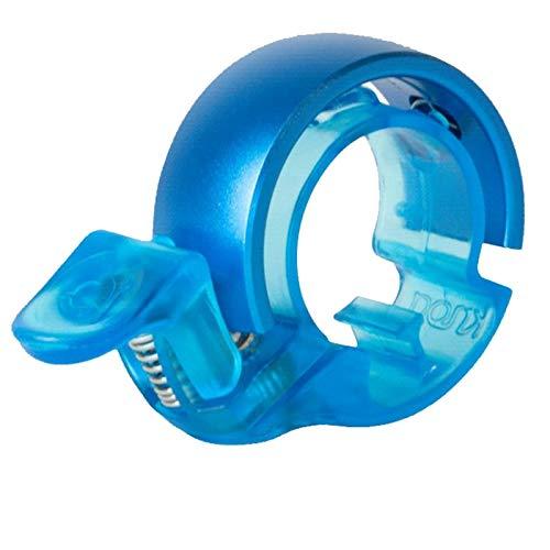 Knog Fahrradklingel Oi Classic Large 23,8-31,8 mm, Electric Blue - Blau, KNCL
