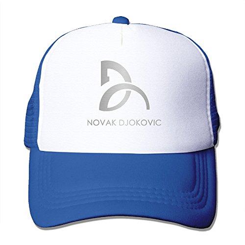 Hittings Novak Djokovic Unisex Fashion Cool Adjustable Snapback Gorra de b/éisbol Tiene One Size Natural