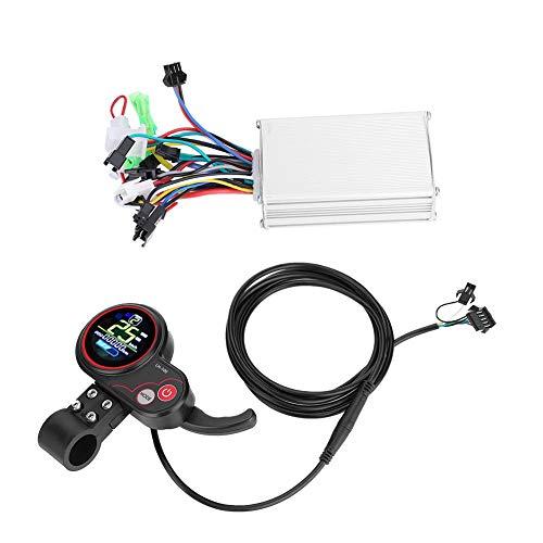 Fafeims Controlador eléctrico sin escobillas Controlador de Pantalla LCD con Interruptor de...