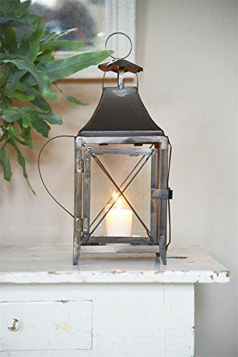 Jeanne d'Arc Living Vintage lantaarn windlicht shabby metaal nostalgie brocante
