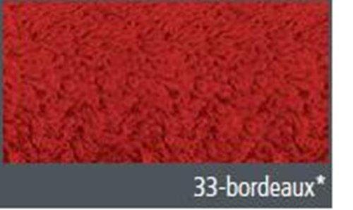 Gözze 'Sylt' 30/30 cm serviette essuie-mains en bordeaux