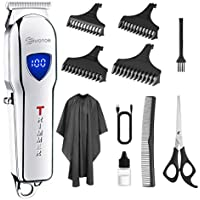 EIVOTOR Professional Hair Trimmer And Grooming Kit for Men