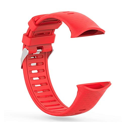 XUEMEI Ersatz-Silikagel-Schnell-Installationsband-Riemen Für Polare Vantage V-Uhr Schnellspanner SMART-Uhr Bunte Accessoires (Color : RD)