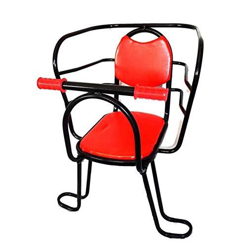 YUQIN Fahrrad Kindersitz Rücksitz Mit Armlehne Fahrradhalterung Sitz Abnehmbare Zaun Armlehne Für Kinder Von 2 Bis 8 Jahren