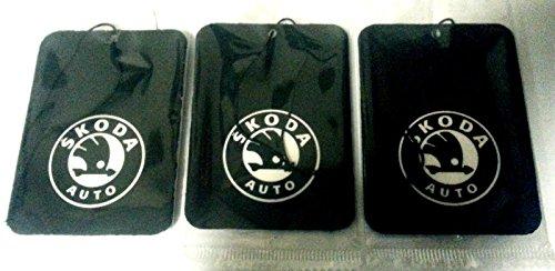 Skoda Logo Lufterfrischer–Set von 3–verschiedene Düfte