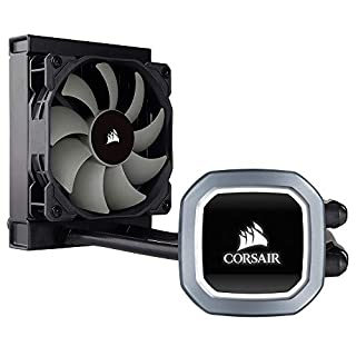 Corsair Hydro H60 Liquid CPU Cooler (120mm Radiator, Single 120mm PWM Fan, RGB-LED Pump Head) Black (B079NXZQBC) | Amazon price tracker / tracking, Amazon price history charts, Amazon price watches, Amazon price drop alerts