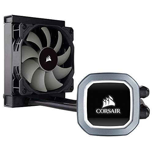 Corsair Hydro Series H60 2018 Sistema de Refrigeración Líquida para CPU, Radiador de 120 mm, Ventilador PWM, All-in-One, LED Blanco