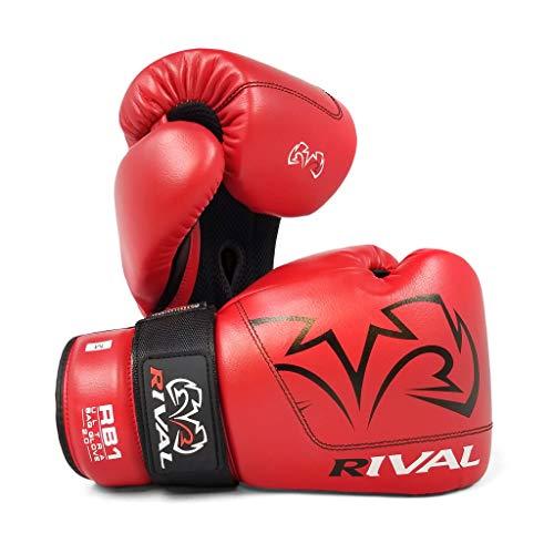 Rival RB1 Ultra Bag Guantes 2.0 Rojo Almohadillas Guantes Guantes de boxeo...
