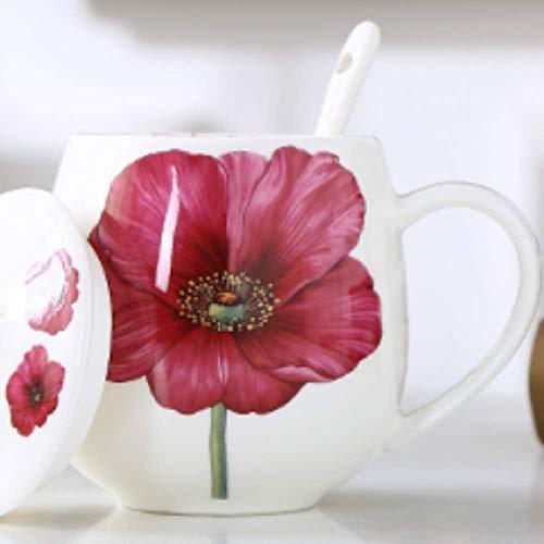 Taza de Porcelana de Hueso Taza de Agua Creativo Lindo Hogar Pequeña...