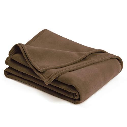 Vellux Original Blanket, King 108 x 90, Camel