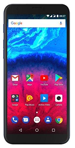 Preisvergleich Produktbild Archos 503659 15, 2 cm (6 Zoll) Core 60s Smartphone (13+2MP Hauptkamera,  5MP Frontkamera,  16GB Speicher,  2GB RAM,  LTE,  Fingerprint,  Android 7.0) Dunkelblau