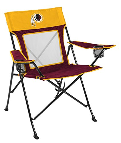 Rawlings NFL Game Changer Large Folding Tailgating and Camping Chair, with Carrying Case, Washington Redskins