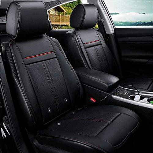 POWER BANKS 3-in-1-Autoheizung Sitzheizung Kühl- und Massagesessel mit 8 multifunktionalen Autositzbezügen für PKW-Limousine und SUV,D