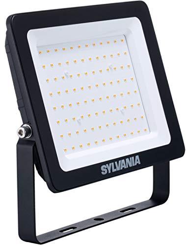 Sylvania - Projecteur LED 70 W 5600 lm 3000 K IP65 sans détecteur de mouvement Noir