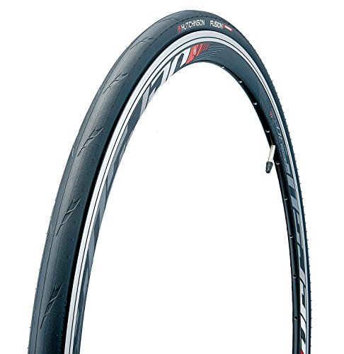 HUTCHINSON Fusion 5 Perf Pneu de vélo Mixte Adulte, Noir, 700 x 25C