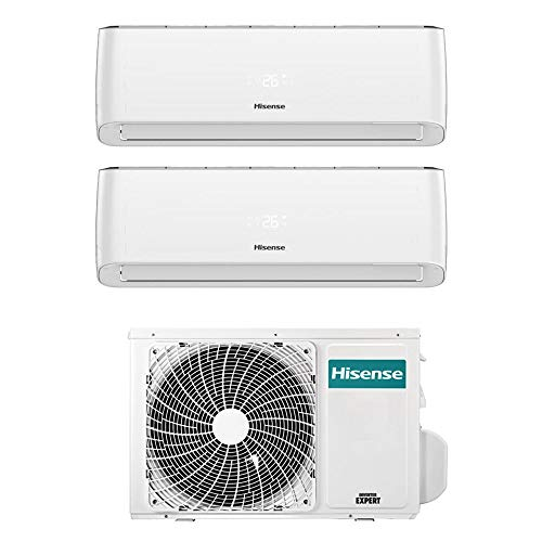 Climatizzatore Dual Split 12+ 12 Btu, Inverter, Wi-Fi, Gas R32 - Hisense Energy Pro