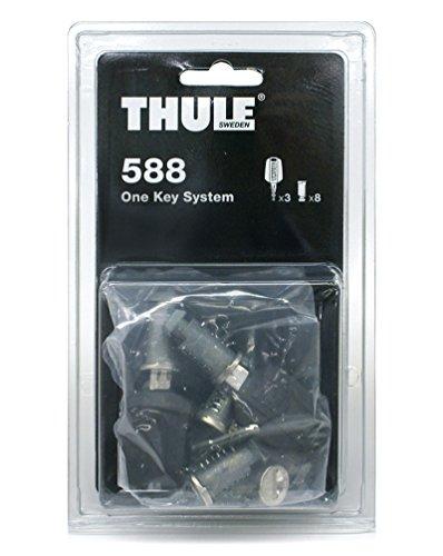 Thule 588000 One-Key System Zubehör, 8 Zylinder