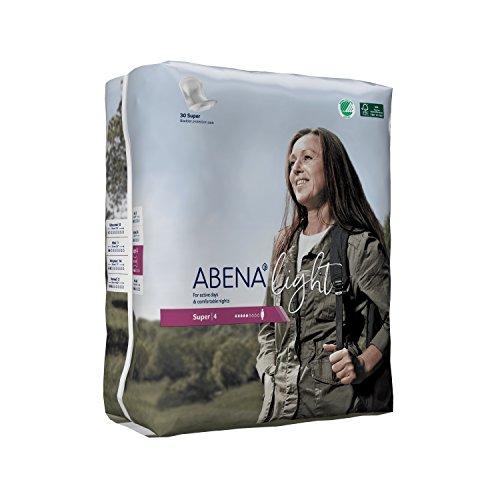 Abena Light Super 4 - 30 Serviettes Protections Anatomiques