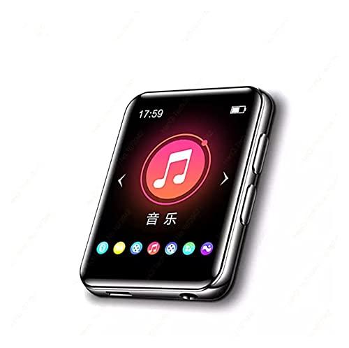 Lettore Mp3 Lettore MP3 con altoparlante Bluetooth Touch Screen Player Musicale incorporato da 4 GB HiFi Metallo Mini Walkman portatile con record radio (Color : 2.5 Touch, Memory Size : 32MB)