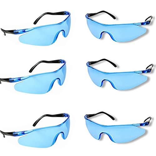 YAAVAAW 6 Pack Schutz Gläser Stück Kinder Outdoor Spiel Schutzbrille Schutzbrille Eyewear für Nerf N-Strike Elite Gun Spielzeug Spiel Eye Schutz, Schutzbrille Baustelle