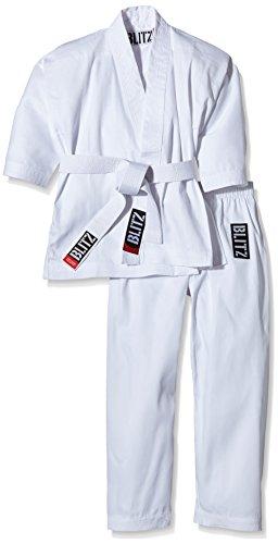 Blitz Sport Traje de poliéster/cotón de Estudiante de Karate para niños