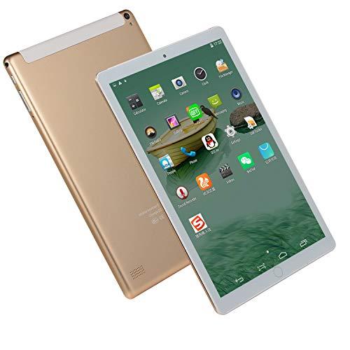 SSSY Tablet 10 Pulgadas, Tableta 2G Wi-Fi, Tableta de Procesador Octa-Core, 1GB RAM 16GB ROM, Tableta con Cámara 0.3MP+5.0MP, WiFi + Bluetooth