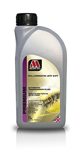 Millers Oils Millermatic ATF CVT Liquide de transmission automatique – 1 l
