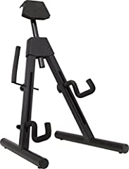A-Frame Stand for electric guitars and basses Designed to hold not only offset instruments such as the Fender Jazz Bass and Jazzmaster guitar, but also instruments with more extreme shapes such as the Jackson Rhoads and Kelly models Height-adjustable...