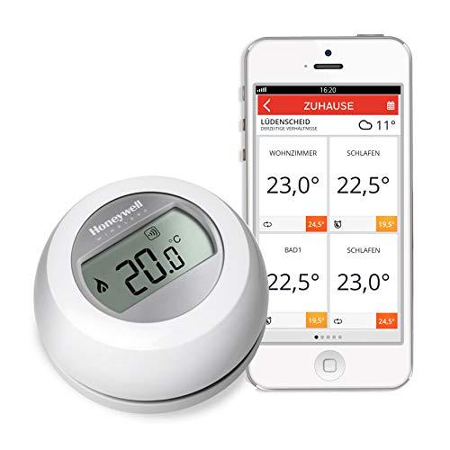 Honeywell Home Evohome T87RF2059, draadloze thermostaat, werkt met Amazon Alexa