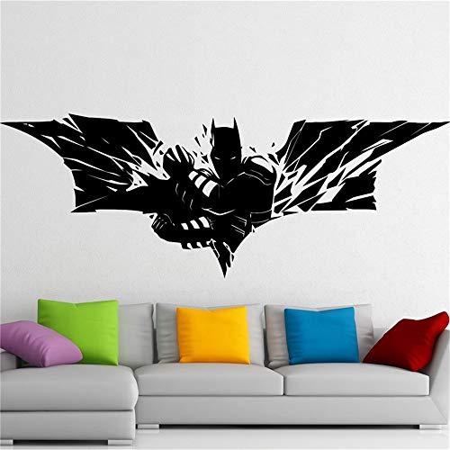 stickers muraux autocollant Sticker autocollant Batman Dark Knight Superhero