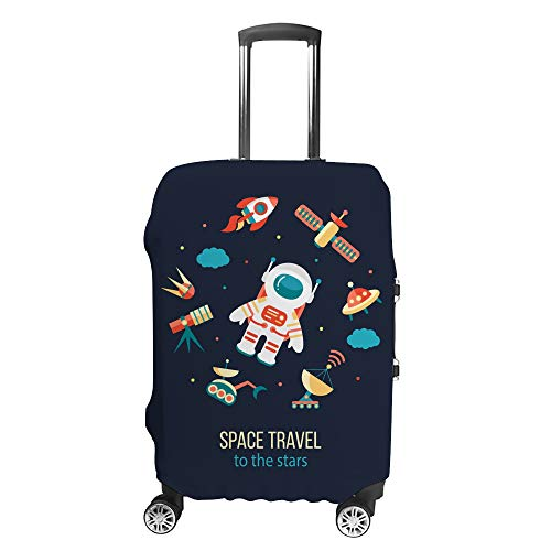 Ruchen - Funda Protectora para Maleta de Astronauta para exploración del Espacio Exterior Cosmos Discovery