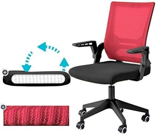 Elegante silla oficina, silla giratoria Silla de oficina en casa | Capacidad de alta carga | Silla ejecutiva ergonómica con barandilla giratoria | Adecuado para sala de conferencias / estudio | Fatiga