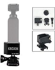 Flycoo CNC aluminium statiefhouder adapter voor DJI Osmo Pocket camera stekker op 1/4 inch statief monopod selfie stick houder accessoires