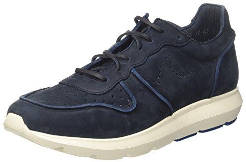 Docksteps Herren Pasadena Sneaker mit niedrigem Schaft, blau, 45 EU