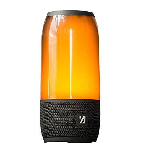 Kaper Go Creativo Y Colorido Degradado Altavoz Bluetooth Tarjeta Inalámbrica De Audio Portátil Deportes Subwoofer Al Aire Libre