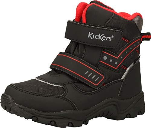 Kickers 830190-30 Botines para niños y niñas, color Negro, talla 32 EU