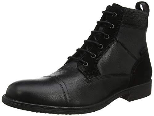 Geox U Jaylon E, Botas Clasicas Hombre, Negro (Black C9999), 43 EU