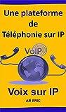 Une plateforme de Téléphonie sur IP: Généralités de la ToIP, Protocoles de la ToIP, Etude et Installation d'une plateforme de ToIP, Configuration de la plateforme de ToIP