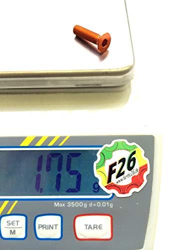 F26 aluminium M6 verzonken kop schroef DIN 7991 7075