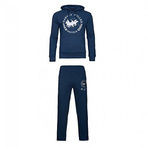 Harvey Miller Sweater mit Hose Trainingsanzug HRM4060 4054 Navy W18-HMT1 Größe XL