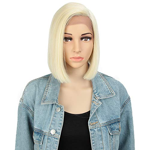 Style Icon Wig 9  Lace Front Bob Synthetic Wig Natural Straight Short Quality Wigs For Women Heat Resistant Fiber