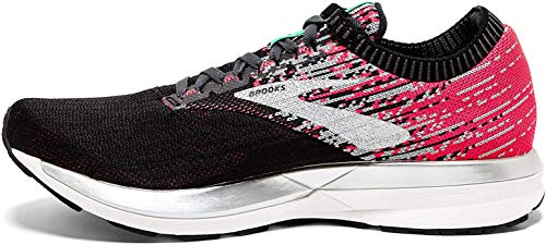 Brooks Damen Ricochet Laufschuhe, Pink Black Aqua, 43 EU