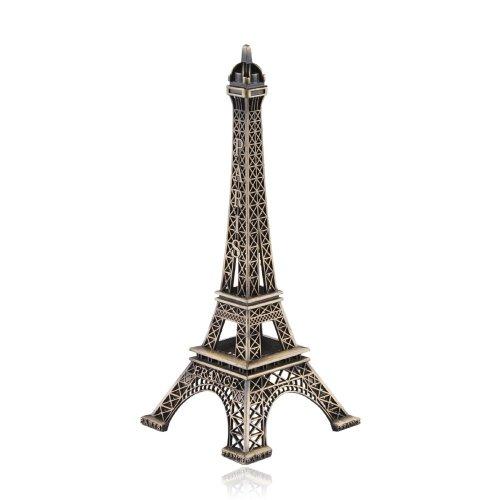 Nabati Métal Paris Tour Eiffel modèle de construction d'illustrations Collection Home Decor -13 cm
