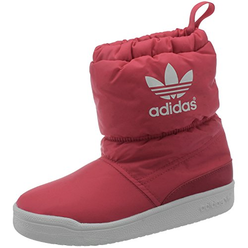 adidas Slip On Boot K Winterstiefel Kinder rot