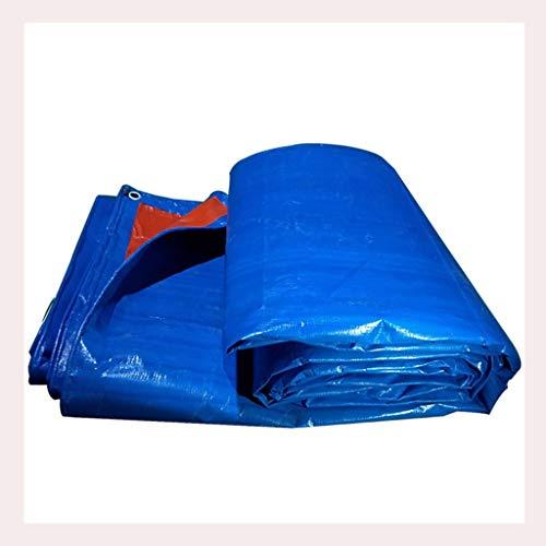 Yunyisujiao regendichte doek waterdicht zonnezeil dekzeil verdikte PE dekzeil outdoor vrachtwagen driewieler Poncho regen schaduw plastic doek 180g / M2