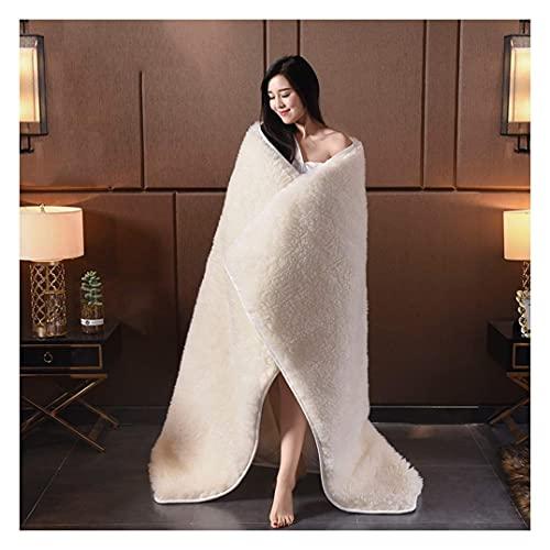 Colchón de futón de lana cálida y suave, colchón de lana individual de tamaño queen, también como funda de colchón de lana y funda de colchón de lana para dormitorio de estudiantes, hogar, cama,